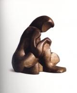 <h5>Katarzyna Kobro, Akt siedzący, 1984–1989, 29 x 23 x 29 cm, brąz, Galeria aTAK, Fot.: Filip Klin</h5>