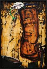 <h5>Brzozowski Tadeusz, Kraszuarka, 1983, 152 x 103 cm, olej, płótno, Hiszpania, Fot.: Agata i Erazm Ciołkowie</h5>