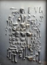<h5>Jonasz Stern, Wyniszczenie, 1978, 72 x 52 cm, technika mieszana, Hiszpania, Fot.: Erazm Ciołek</h5>
