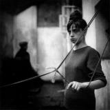 <h5>Egzystencje I, fotografia czarno biała na papierze, 50x50 cm, 1962, dzięki uprzejmości Joanny i Krzysztofa Madelskich</h5>