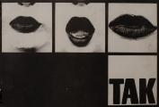 <h5>TAK, druk offsetowy na papierze, 41x83 cm, 1972, dzięki uprzejmości artystki</h5>