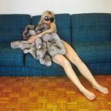 <h5>Sztuka zwierzęca, Fotografia barwna, 100x100 cm, 1977, dzieło z Kolekcji Regionalnej Zachęty Sztuki Współczesnej w Szczecinie</h5>