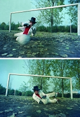 <h5>Zdzisław Sosnowski, Goalkeeper, 1975, fotografia kolorowa</h5>