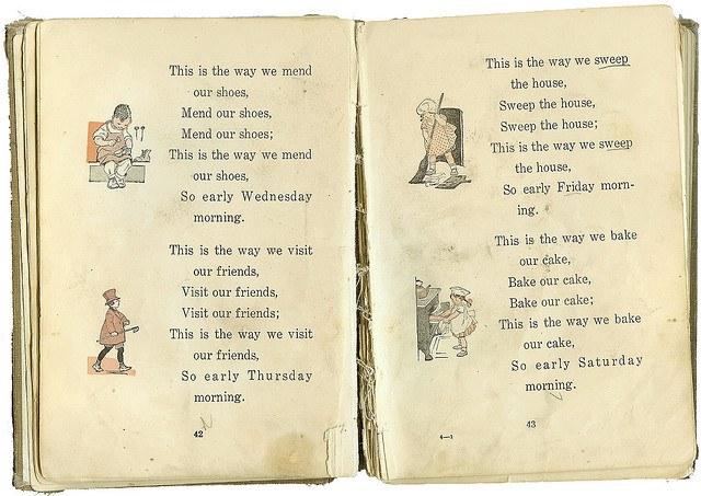 Skan fragmentu książki dla dzieci