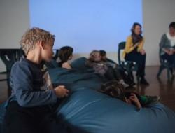 Filozofowanie z dziećmi - zdjęcie z warsztatów