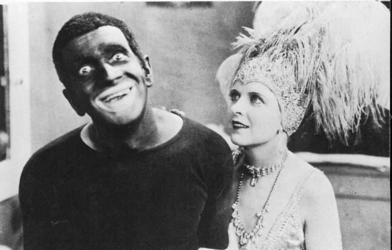 Kadr z filmu Śpiewak z Jazzbandu
