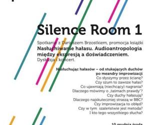 Silence Room 1 - plakat