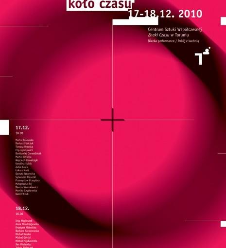 plakat 4. Festiwalu Performance Koło Czasu