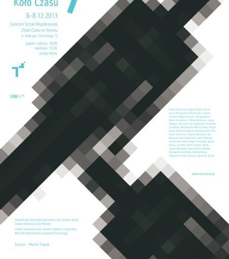 plakat 7. Festiwalu Performance Koło Czasu