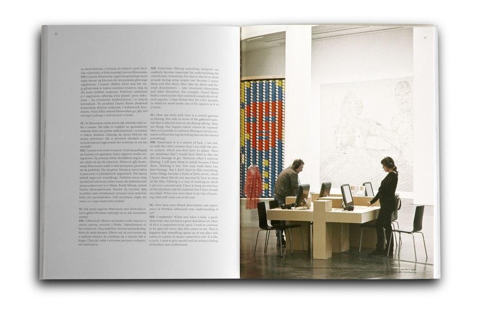 Zdjęcie zawartości katalogu THOMAS BAYRLE Po nici do kłębka - z powrotem & HELKE BAYRLE Portikus w budowie