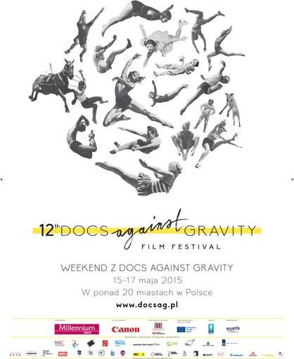 Plakat Festiwalu Docs Against Gravity