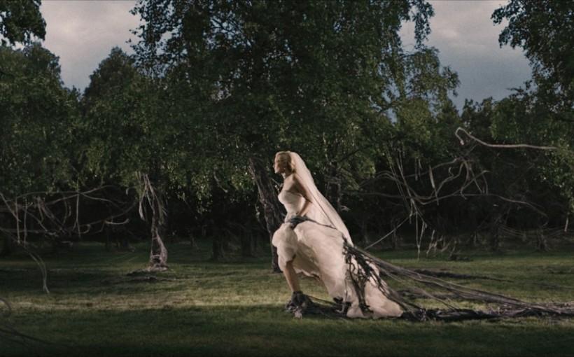 Kadr z filmu Melancholia