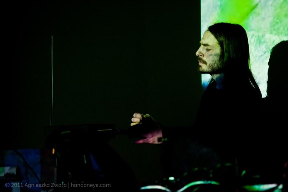 Michael Durek z grupy PAS, fot. Agnieszka Zwara