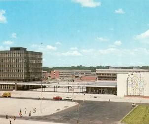 Kampus UMK, Pocztówka z Torunia z lat 70.