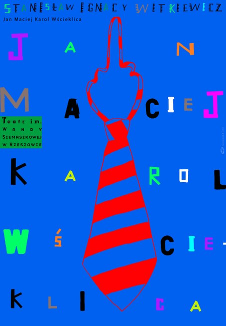 plakat Lecha Majewskiego