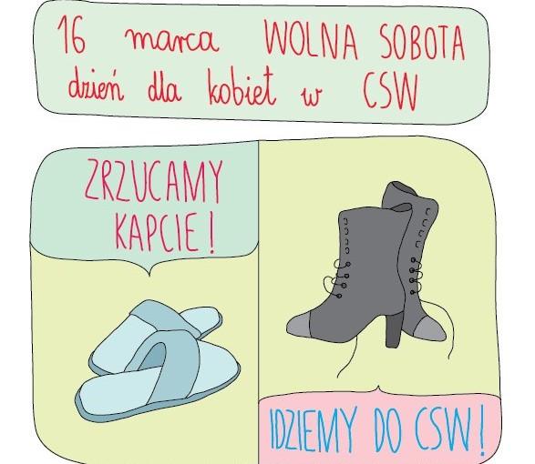 Wolna Sobota - Dzień dla kobiet w CSW