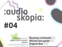 Plakat audioskopii #4