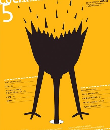 plakat 5 Cocart Music Festiwal