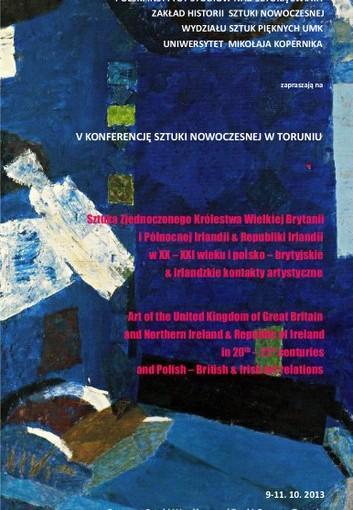 Plakat Konferencja Polskiego Instytutu Studiów nad Sztuką Świata