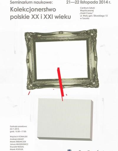 Plakat konferencja polskie XX i XXI wieku