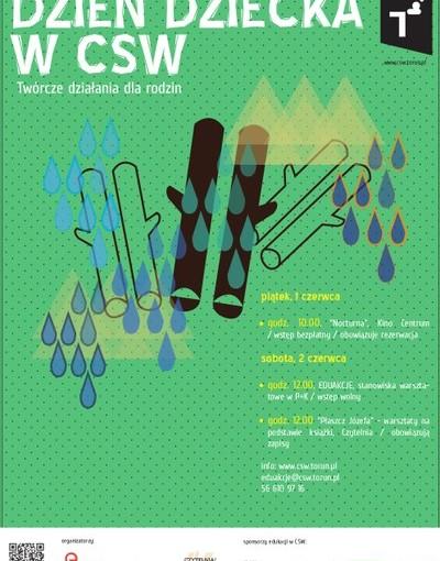Plakat Dzień Dziecka 2012 w CSW