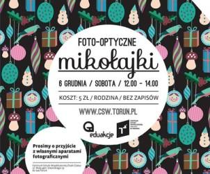 Plakat Mikołajki w CSW 2014