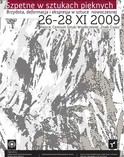 plakat III Konferencja Naukowa Sztuki Nowoczesnej w Toruniu