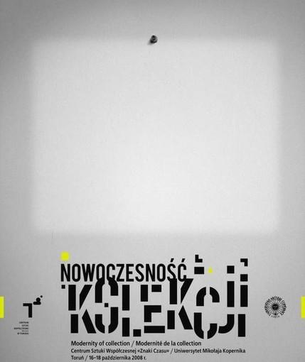 Plakat konferencja Nowoczesność Kolekcji