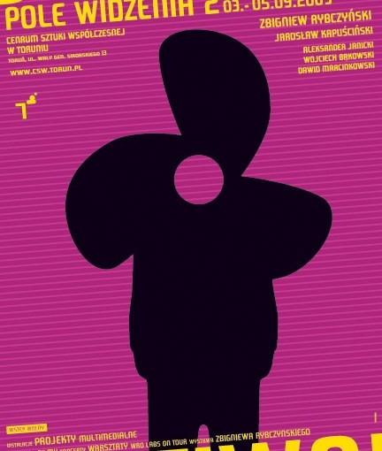 Plakat Festiwalu Pole Widzenia 2