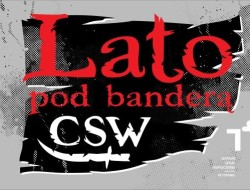 Plakat Lato pod banderą CSW