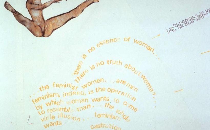 plakat do wykładu Artystki - Anarchistki