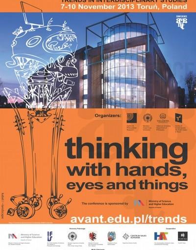 Plakat promujący konferencję AVANT