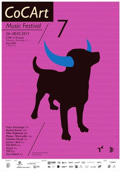 plakat 7. Cocart Music Festival