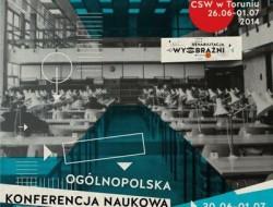 Plakat promujący konferencję
