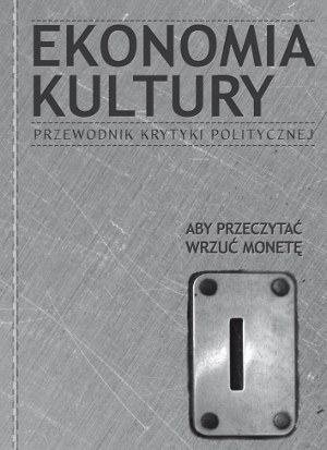 """Okładka książki """"Ekonomia kultury"""""""