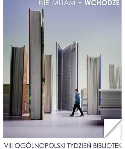 Tydzień bibliotek 2011 - plakat