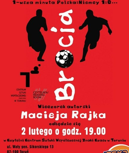 Okładka książki M. Rajka
