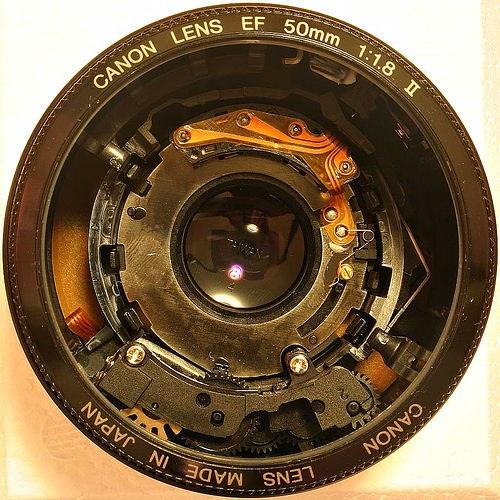 Fotografia obiektywu