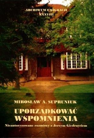 Okładka książki M. Supruniuka