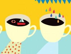 plakat kawiarnia w CSW konkurs