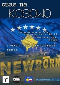 Plakat Czas na Kosowo
