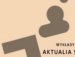 Plakat Aktualia sztuki