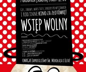 Plakat Mikołajki w CSW 2013