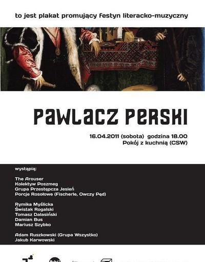Plakat AUGENMUSIK: PAWLACZ PERSKI