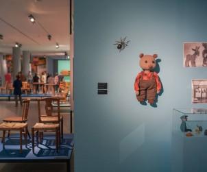 Widok ekspozycji z wystawy Tormiar