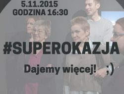 #SUPEROKAZJA (2)