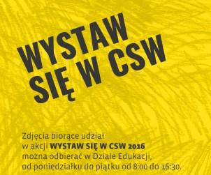 Odbiór zdjęć Wystaw się w CSW