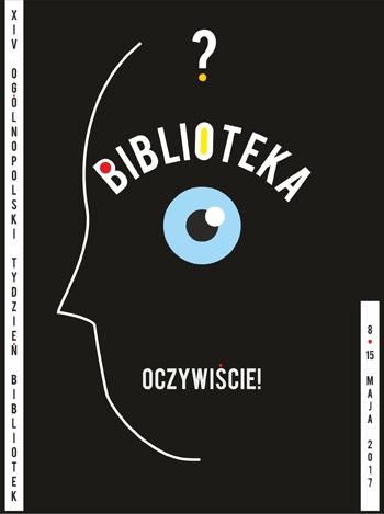 Tydzień Bibliotek 2017 - plakat