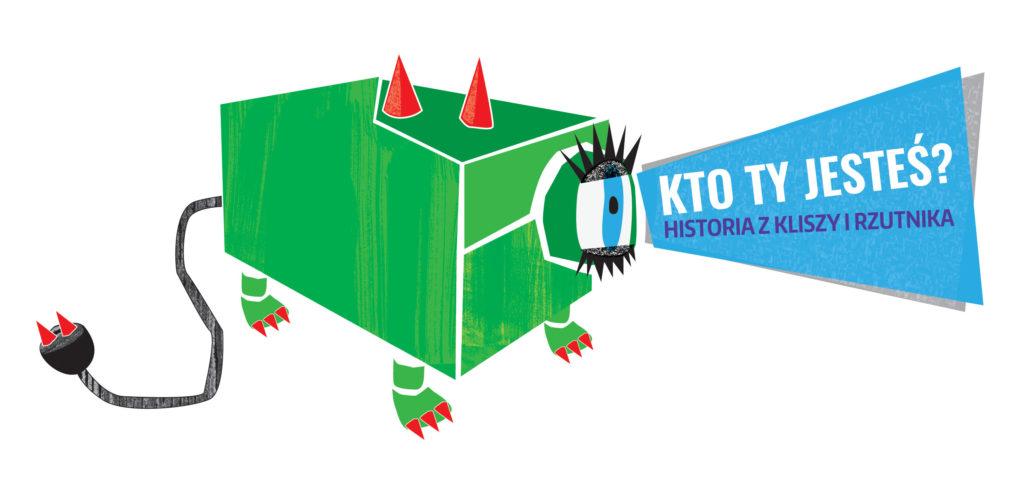 Logotyp Bajek z rzutnika