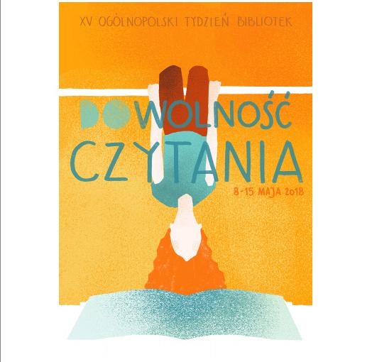 Tydzień Bibliotek 2018 - plakat